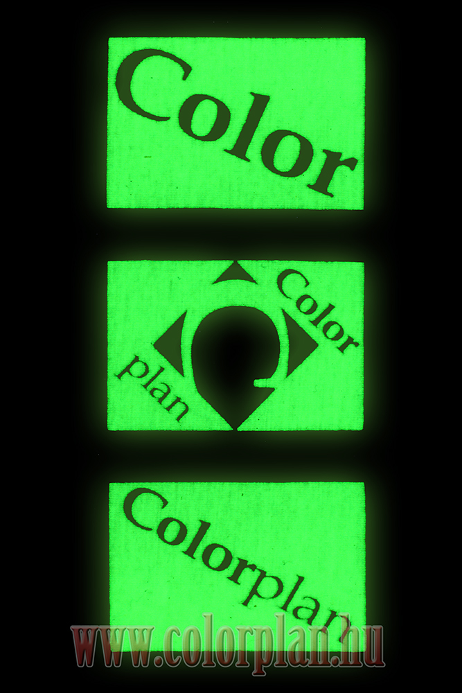 világitó lumin festék